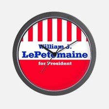 William J. LePetomaine - Wall Clock