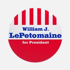 William J. LePetomaine - Ornament (Round)