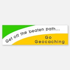 Get off the Beaten Path Bumper Bumper Bumper Sticker
