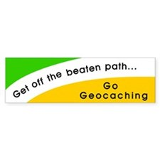 Get off the Beaten Path Bumper Bumper Sticker