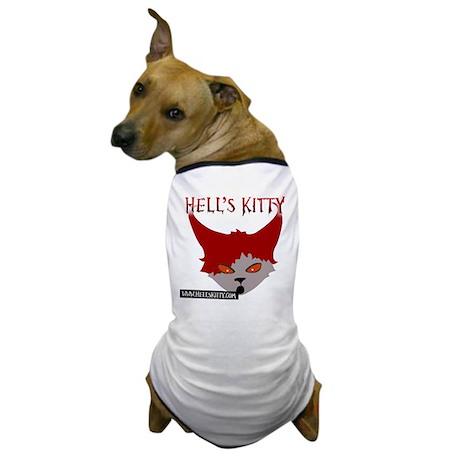 Hells Kitty_logo Dog T-Shirt