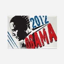 President Barack Obama 2012 Rectangle Magnet