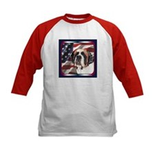 Saint Bernard US Flag Tee