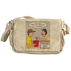 Trading Post Bucket Messenger Bag