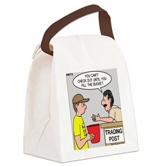 Trading Post Bucket Canvas Lunch Bag