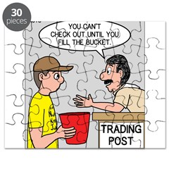 Trading Post Bucket Puzzle