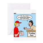 Trading Post Water Greeting Card