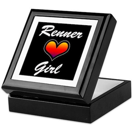 Jeremy Renner Girl! Keepsake Box