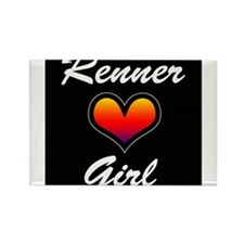 Jeremy Renner Girl! Rectangle Magnet