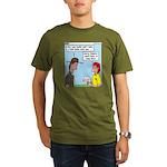 Pet Tick Organic Men's T-Shirt (dark)