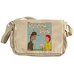 Pet Tick Messenger Bag