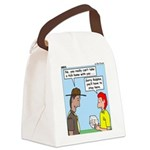 Pet Tick Canvas Lunch Bag