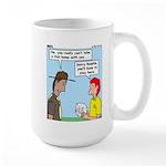 Pet Tick Large Mug