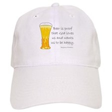 Beer is Proof... Baseball Cap