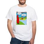Campsite Canoeing White T-Shirt