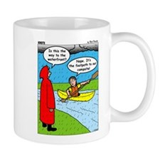 Campsite Canoeing Mug