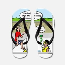 Hot SCUBA Flip Flops