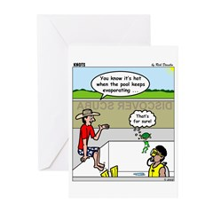 Hot SCUBA Greeting Cards (Pk of 10)
