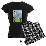 Lunch Airlift Women's Dark Pajamas