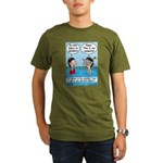 Campsite SCUBA Organic Men's T-Shirt (dark)