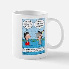 Campsite SCUBA Mug