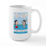 Campsite SCUBA Large Mug