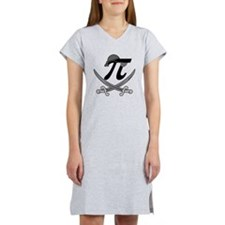 Pi - Rate Greyscale Women's Nightshirt