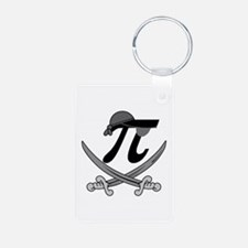 Pi - Rate Greyscale Keychains
