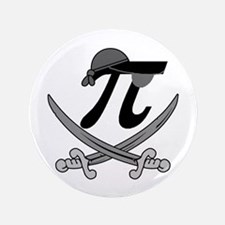 "Pi - Rate Greyscale 3.5"" Button (100 pack)"