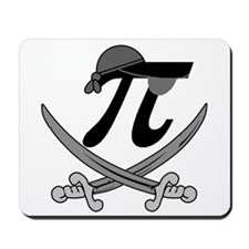 Pi - Rate Greyscale Mousepad