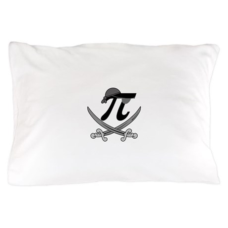Pi - Rate Greyscale Pillow Case