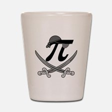 Pi - Rate Greyscale Shot Glass