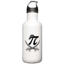 Pi - Rate Greyscale Water Bottle