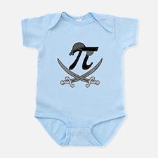 Pi - Rate Greyscale Infant Bodysuit