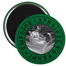 Frigg Rune Shield Magnet