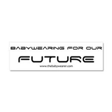 Babywearing for our Future II Car Magnet 10 x 3
