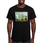 Atomic Energy Men's Fitted T-Shirt (dark)
