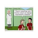 Atomic Energy Throw Blanket