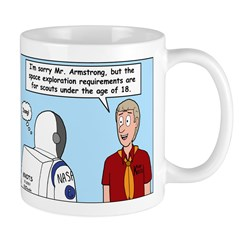 Space Exploration Mug
