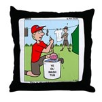 Jamboree Washing Machine Throw Pillow