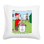 Jamboree Washing Machine Square Canvas Pillow
