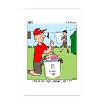 Jamboree Washing Machine Mini Poster Print