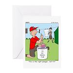Jamboree Washing Machine Greeting Card