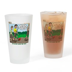 Tenderfoot Drinking Glass