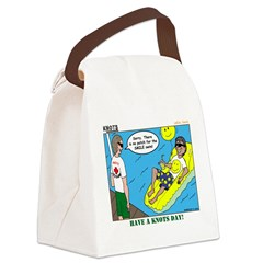 Smile Swim Canvas Lunch Bag