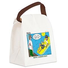 Smile Swim Canvas Lunch Bag