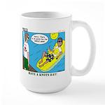 Smile Swim Large Mug