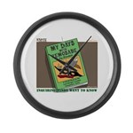 Indian Lore Large Wall Clock