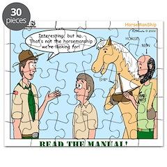 Horsemanship Puzzle