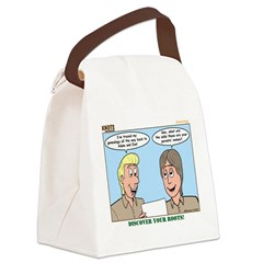 Genealogy Canvas Lunch Bag